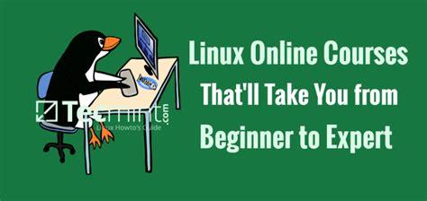 online tutorial linux linux online training courses