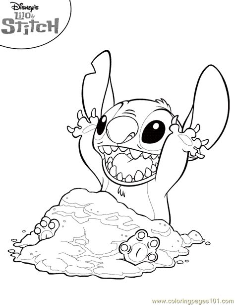 free lilo and stitch coloring pages to print lilo stitch coloring page 11 coloring page free