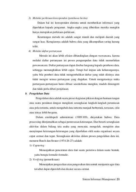 Sistem Informasi Manajemen 3 sistem informasi manajemen
