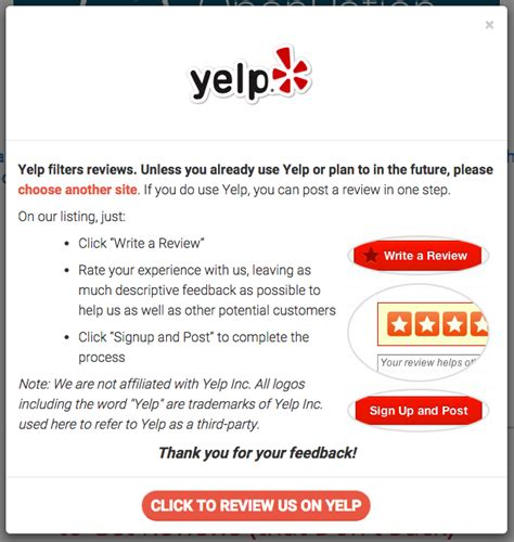 How It Works Gatherkudos Yelp Review Template