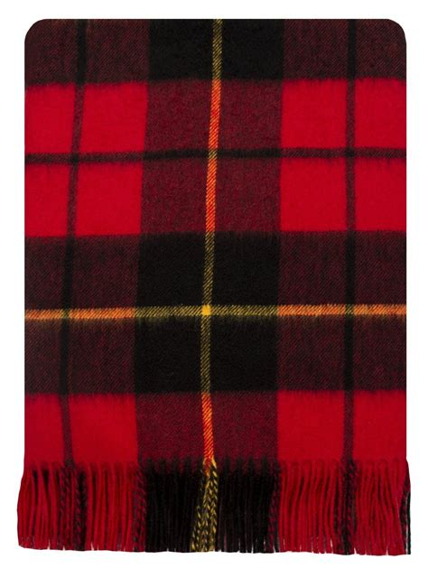 Lambswool Rugs by Wallace Tartan Lambswool Travel Rug
