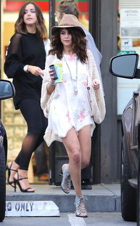 Out And About In by Selena Gomez Legs 16 Gotceleb