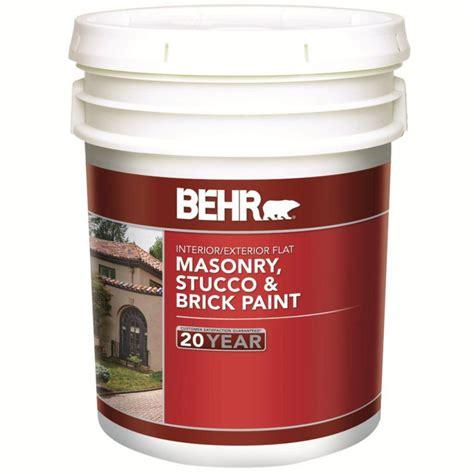 behr paint color new brick behr behr masonry stucco brick paint flat base