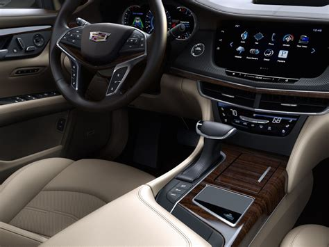 cadillac upholstery 2016 cadillac ct6 at new york auto show live photos