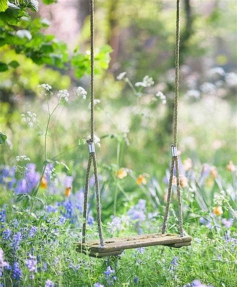 swing in the garden great garden swing ideas to ensure a gregarious time for
