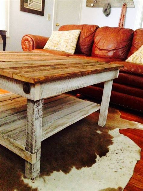 Barnwood Coffee Table Plans Barnwood Coffee Table Woodworking Projects Plans
