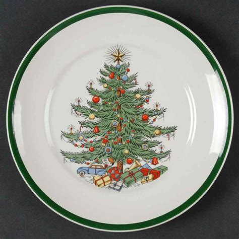 cuthbertson christmas tree bread butter plate 7087358 ebay