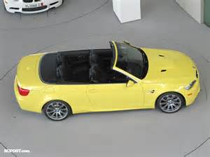 Bmw European Delivery Pricing European Delivery Bmw M3 E93 Convertible In Dakar Yellow Ii