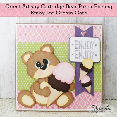 cricut enjoy card template how to my paper crafting my cricut cards