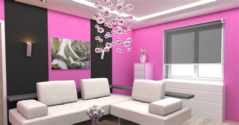 my pink life family room wall color ديكورات دهانات حوائط
