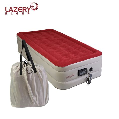 lazery sleep air mattress airbed with built in electric 7425600225289 ebay