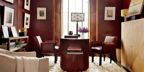 Guest Bedroom Office - 7 easy ideas to make your mid century modern home office organized