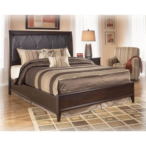 ashley naomi bedroom set b461 81 ashley furniture queen upholstered bed with