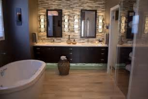 Glass Tile Accent Wall Bathroom Photo Page Hgtv