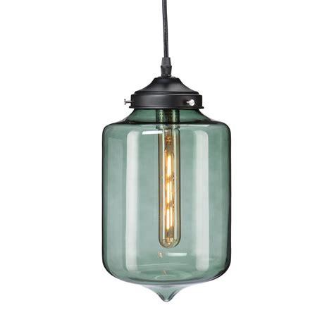 smokey glass pendant light mercado 1 light smoky green colored glass pendant l