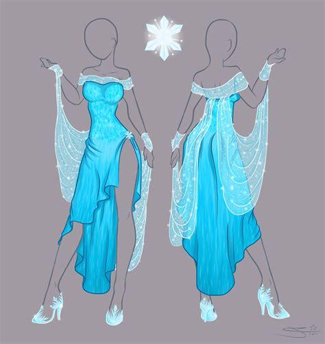 design real clothes frozen elsa new dress by tatara94 on deviantart