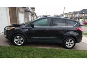 Ford Escape Se 2015 Ford Escape Se Awd With Winter Package Mississauga