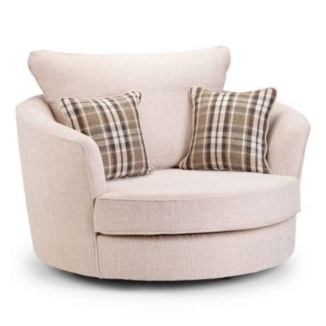 round swivel sofa swivel round chair lisbon beige the sofa group
