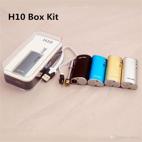 Ce3 Atomizer 0 8ml Untuk Mod H10 e cigs h10 ce3 atomizer wickless vape box mod kit cbd with ecigarette vaporizer pen