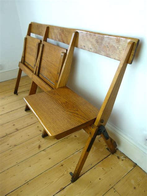 fold up bench seats vintage industrial oak school fold up bench 3 seats eyespy