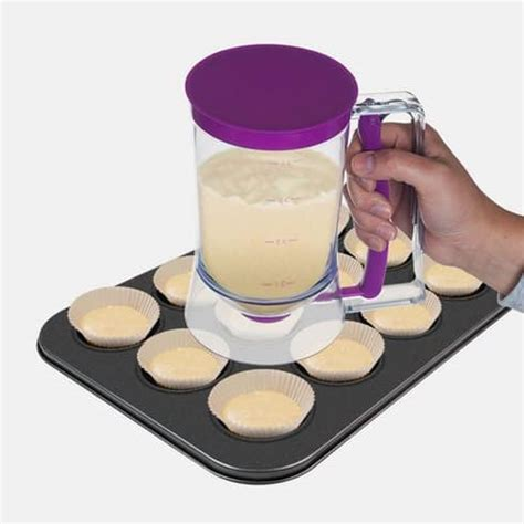 Cupcakes Batter Dispenser save 64 on the chef buddy cupcake pancake batter dispenser
