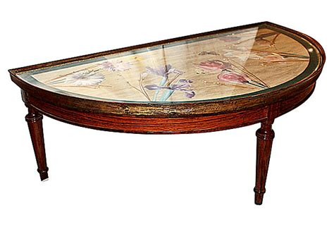 Decoupage Wood Table - decoupage table circa 1940s omero home