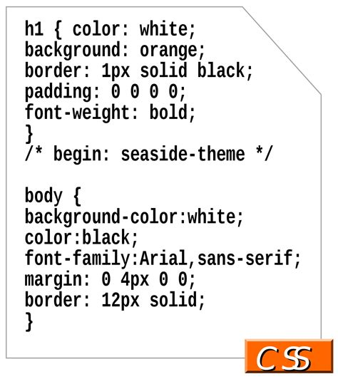 html style color cascading style sheets