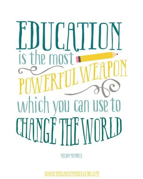 printable quotes for students free classroom printable quote nelson mandela quote