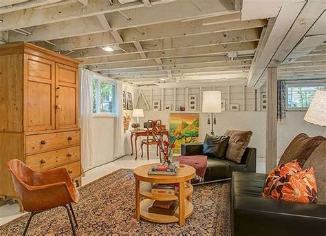 Make Your Basement Ideas So Cool 10 Shortcuts To A Not So Scary Basement Basement Ideas The Floor And Rustic