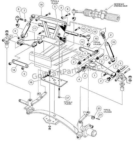 club car diagram club car 36v wiring diagram 1984 club car front end