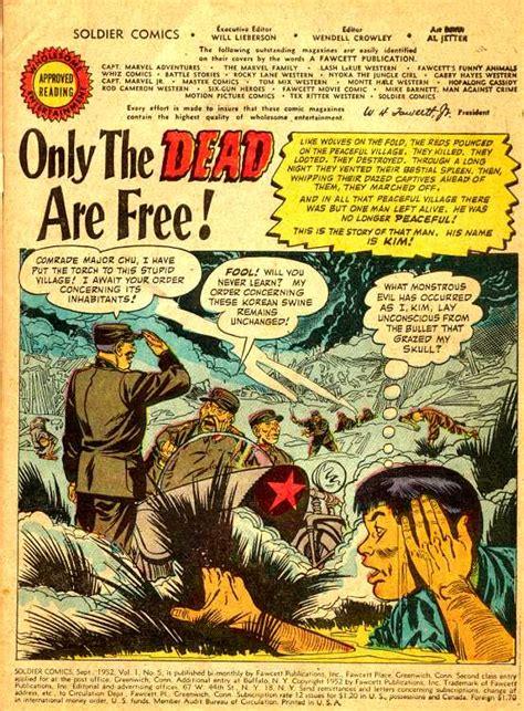 army south books the korean war in comic books