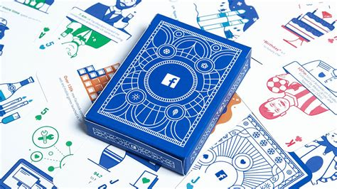 What Is A Facebook Gift Card - facebook made an amazing deck of playing cards with marketing insights for agencies