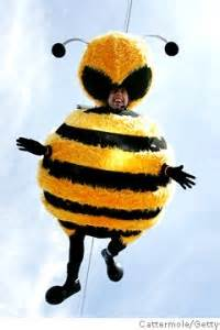 Stylefoul Jerry Seinfeld In Bee Costume by Buzzy Ny Daily News