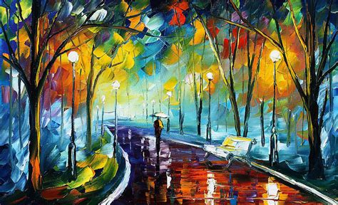 best l for painting park 3 palette knife painting on canvas by
