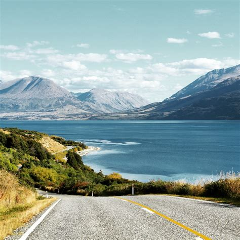 drive queenstown to glenorchy glenorchy glenorchy new zealand the glenorchy road en