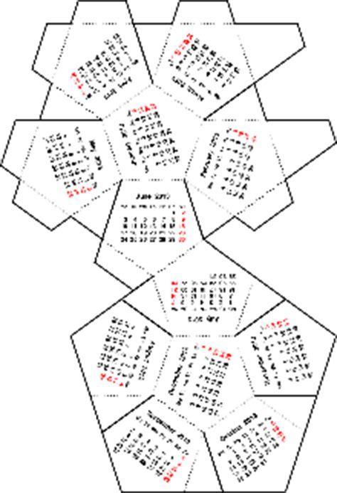 Dodecahedron Calendar 2016 Calendar Template 2016 - dodecahedron calendar 2016 calendar template 2016