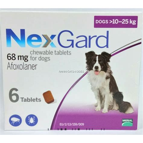 nexgard for dogs reviews nexgard chewables for dogs 10 25kg l