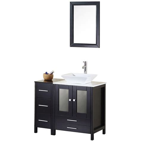 Home Depot Design Element Vanity | design element arlington 36 in w x 22 in d vanity in