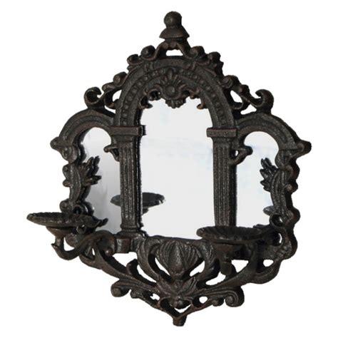 kerzenhalter teelicht kerzenhalter 2 armig spiegel wandhalter kerze teelicht