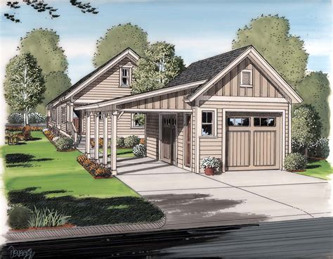 house plans with detached garage in back garage plan 30505 at familyhomeplans com