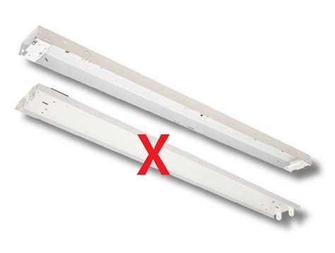 Convert Fluorescent Light Fixture To Led Led Retrofit Conversion Kits For Led Engineered Products Company