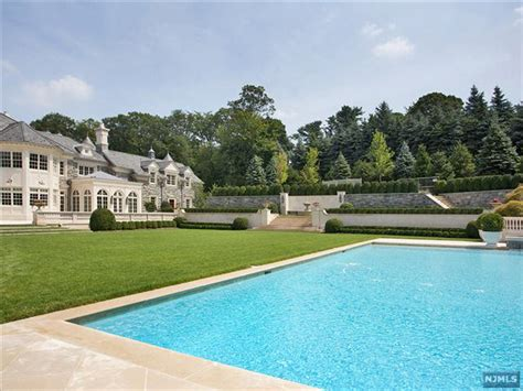 Mansion Backyard by More Pictures Of The 68 Million Mansion In Alpine Nj Homes Of The Rich
