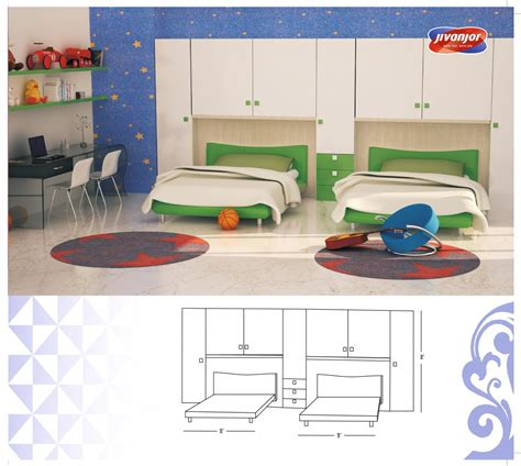 kids double bed design for kids double bed room with separate beds jacpl