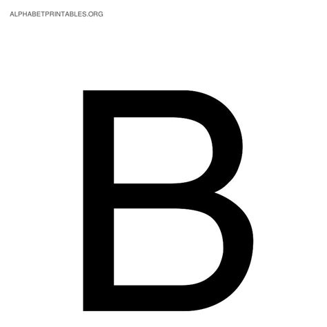 printable alphabet letter b alphabet b pictures to pin on pinterest pinsdaddy