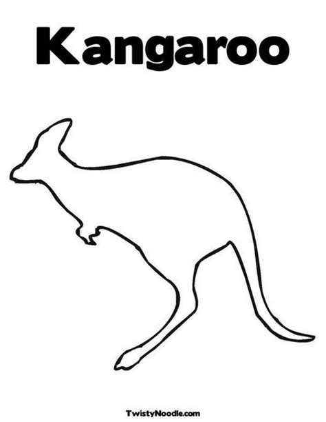 kangaroo coloring pages pdf coloring pages kangaroos and patterns on pinterest