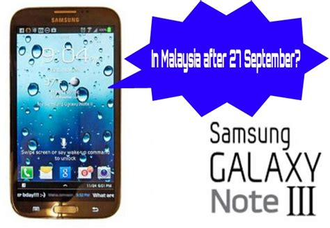 Hp Samsung Note 3 Di Malaysia samsung galaxy note 3 malaysia release date specs technave