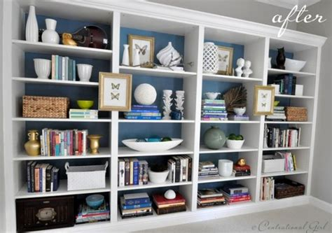 tips for keeping a bookshelf organized