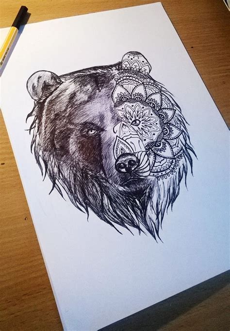25 best ideas about bear tattoos on pinterest