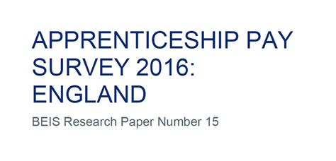 Payable Surveys - breaking apprenticeship pay survey exposes rise in proportion paid illegal wages