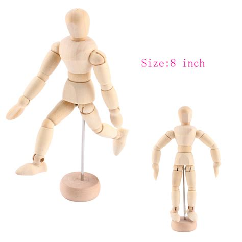 8 inch jointed doll popular wooden doll drawing buy cheap wooden doll drawing